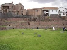 SANTO DOMINGO CHURCH - QORICANCHA TEMPLE
