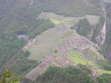 MP VIEW FROM HUAYNA PICCHU MT.