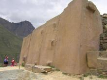 TEMPLE OF THE SUN - OLLANTAYTAMBO
